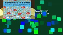 Full E-book Cooking   Food Word Search Puzzles: Large Print Word Search Puzzles for Foodies (Word