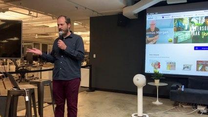 NYC MusicTech Meetup April 2019 - Qobuz Premium Music Streaming with Dan Mackta