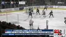 Condors back home before first AHL Playoffs home game