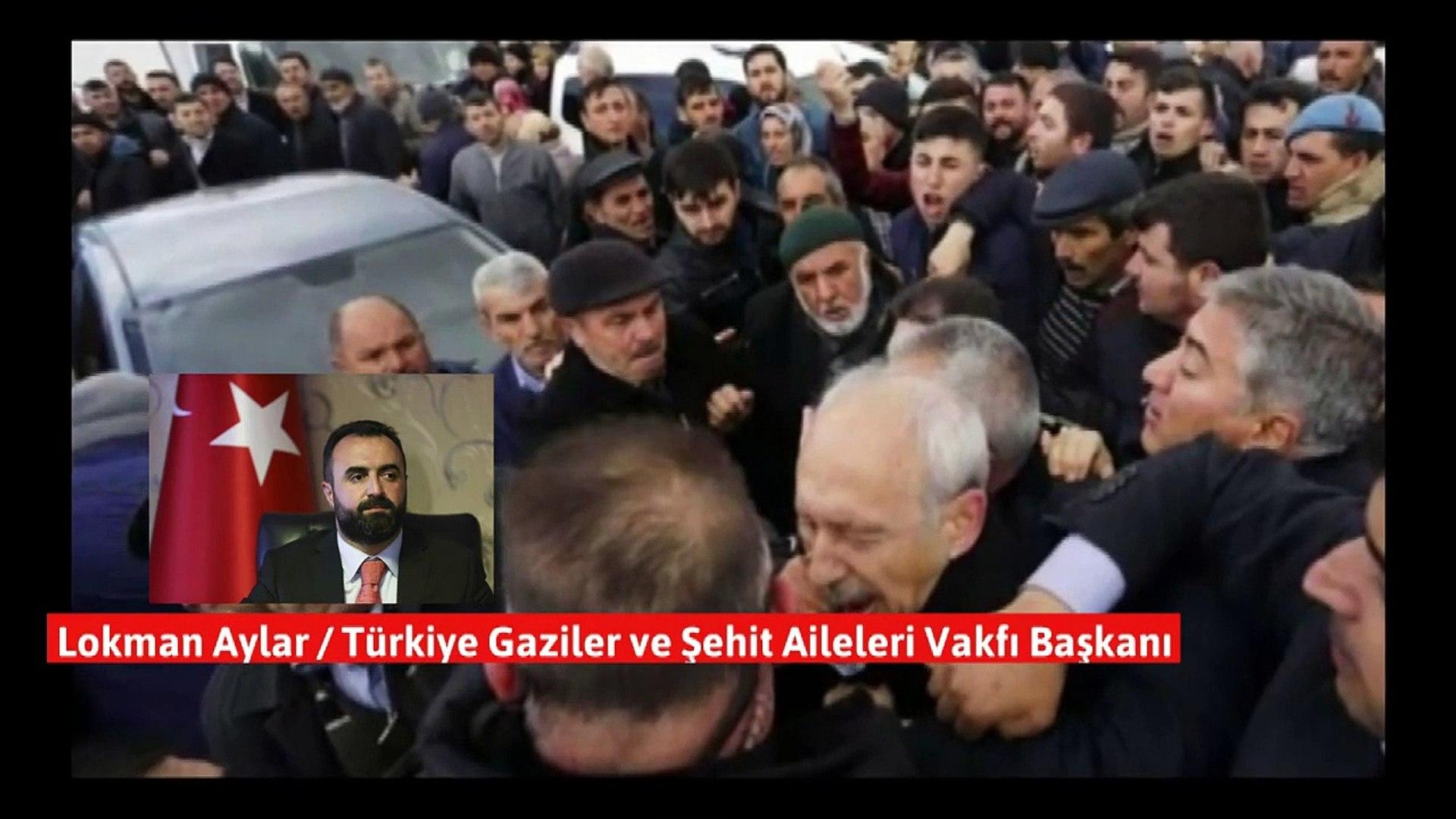 Gaziler Ve Şehit Aileleri Vakfı'ndan 'Kılıçdaroğlu'na saldırı' açıklaması!