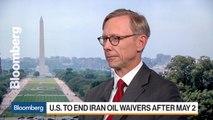 Iran Sanctions Haven't Hurt Oil Market, Special Rep. Hook Says