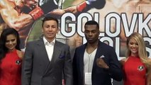 Gennady Golovkin and Steve Rolls announce 8 June bout