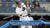 Time to Schein: Aaron Judge added to Yankees' long disable list