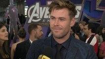 Chris Hemsworth 'Avengers: Endgame' Premiere: FULL INTERVIEW (Exclusive)