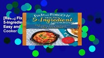 [Read] Fix-It and Forget-It Healthy 5-Ingredient Cookbook: 150 Easy and Nutritious Slow Cooker
