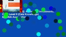 [NEW RELEASES]  Alternative Investments: CAIA Level II (Caia Knowledge) by CAIA Association