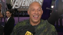 Vin Diesel 'Avengers: Endgame' Premiere: FULL INTERVIEW (Exclusive)