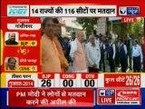 Lok Sabha Election 2019 Phase 3 Voting Day: Amit  Shah in Gandhinagar, Gujarat to caste his vote