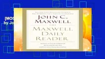 [MOST WISHED]  The Maxwell Daily Reader by John Maxwell