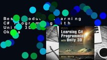 Best product  Learning C# Programming with Unity 3D - Ryo Alexander Okita