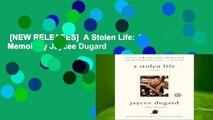 [NEW RELEASES]  A Stolen Life: A Memoir by Jaycee Dugard