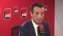 """Florian Philippot, tête de liste """"Les Patriotes"""" aux prochaines élections européennes : """"Si demain l'Union Européenne décide de notre impôt, notre TVA, notre CSG, je serais extrêmement inquiet : c'est ce que propose le RN"""""""