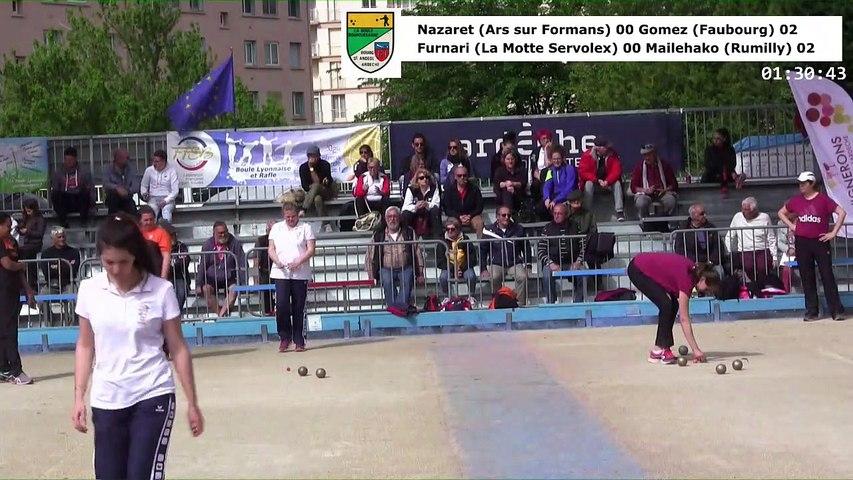Demi-finales, huitième étape du Super 16 féminin, Bourg-Saint-Andéol 2019