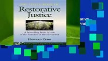 [GIFT IDEAS] The Little Book of Restorative Justice: Revised and Updated (Justice and