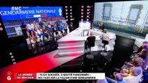 """Le monde de Macron : """"Flics suicidés, à moitié pardonnés"""", des tags sur la façade d'une gendarmerie - 23/04"""