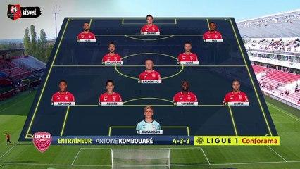 J33. Dijon / Stade Rennais F.C. : résumé