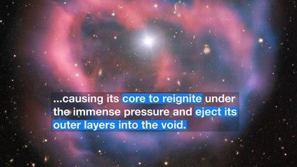 """Joyas Cósmicas del ESO: El último aliento de una estrella moribunda """"un momento en el tiempo"""""""