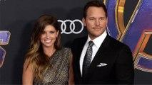 """Chris Pratt and Katherine Schwarzenegger """"Avengers: Endgame"""" World Premiere Purple Carpet"""