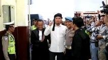Setelah Jalani Sidang, Ahmad Dhani Teriak Prabowo Menang