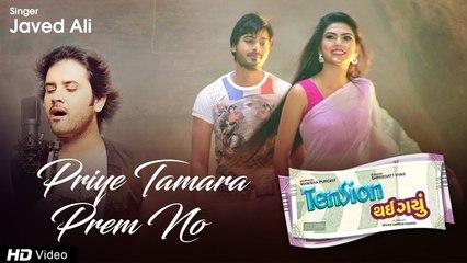 ગુજરાતી Romantic Song | Priye Tamara Prem No | Valentine Special | Javed Ali | Tension Thai Gayu