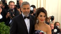 George and Amal Clooney reunite with Irish relatives for Easter
