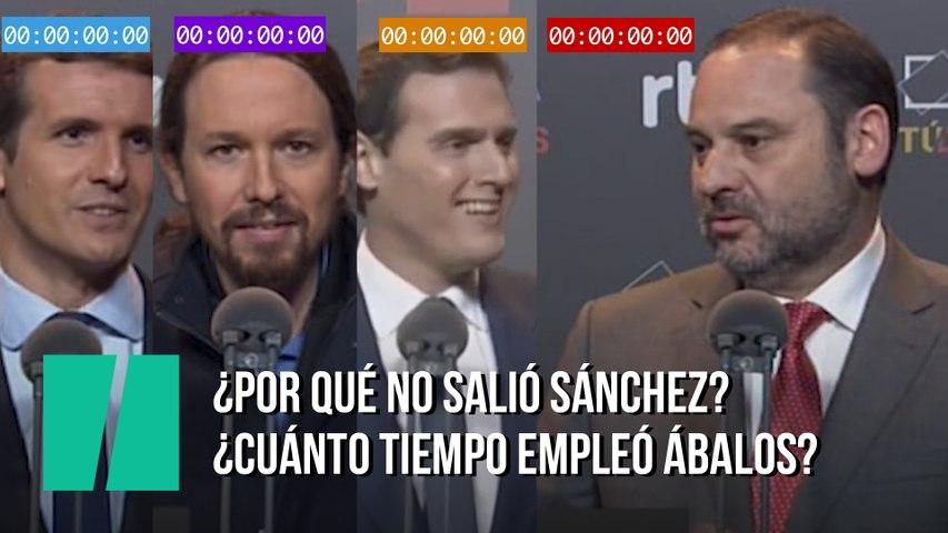 El vídeo de la polémica: ¿Por qué no salió Sánchez? ¿Cuánto tiempo empleó Ábalos? Este