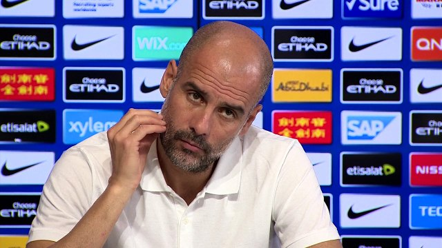 Guardiola says Mahrez will stay at Manchester City next season despite rumours