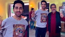 Ayushmann Khurrana & Annu Kapoor work together again After 7 Years   FilmiBeat