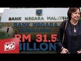 Bank Negara pernah rugi RM 31.5 bilion | Edisi MG