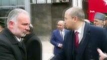Garnizon Komutanı HDP eş başkanlarıyla tokalaşmadı...O anlar kamerada