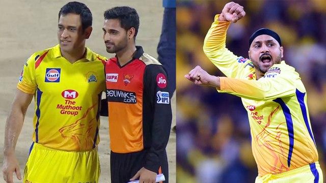 IPL 2019 CSK vs SRH: MS Dhoni Opt to Bowl, Harbhajan Singh in for Shardul Thakur | वनइंडिया हिंदी