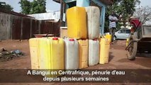 A Bangui, une pénurie d'eau qui inquiète les habitants