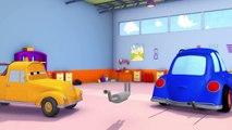 Tom El Camión de Remolque y PEDRO el POST de COCHE en Coche de la Ciudad | Coches Y Camiones de la construcción de dibujos animados de los niños