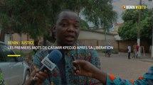 Bénin - justice : les premiers mots de Casmir Kpedjo après sa libération