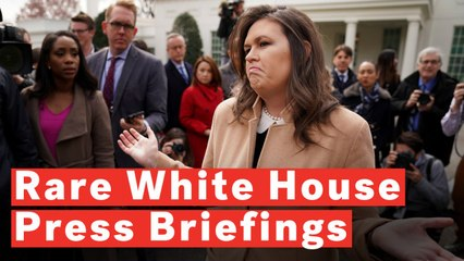 It's Been A Record 43 Days Since The Last White House Press Briefing