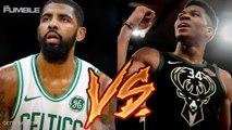 Bucks v Celtics NBA Playoffs Preview With Britt & Chris