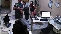 Deux policiers sauvent un bébé qui s'étouffe... Héros du jour