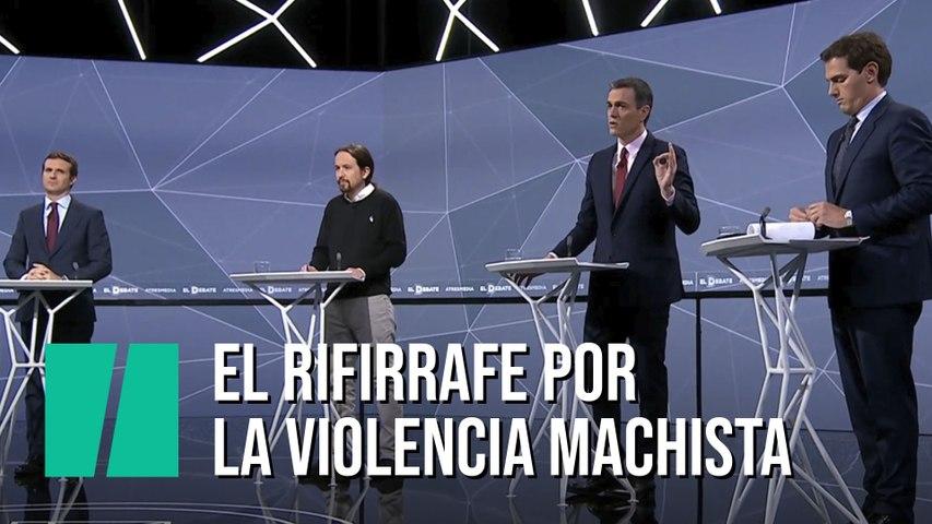 El rifirrafe sobre la violencia machista entre Sánchez, Casado y Rivera