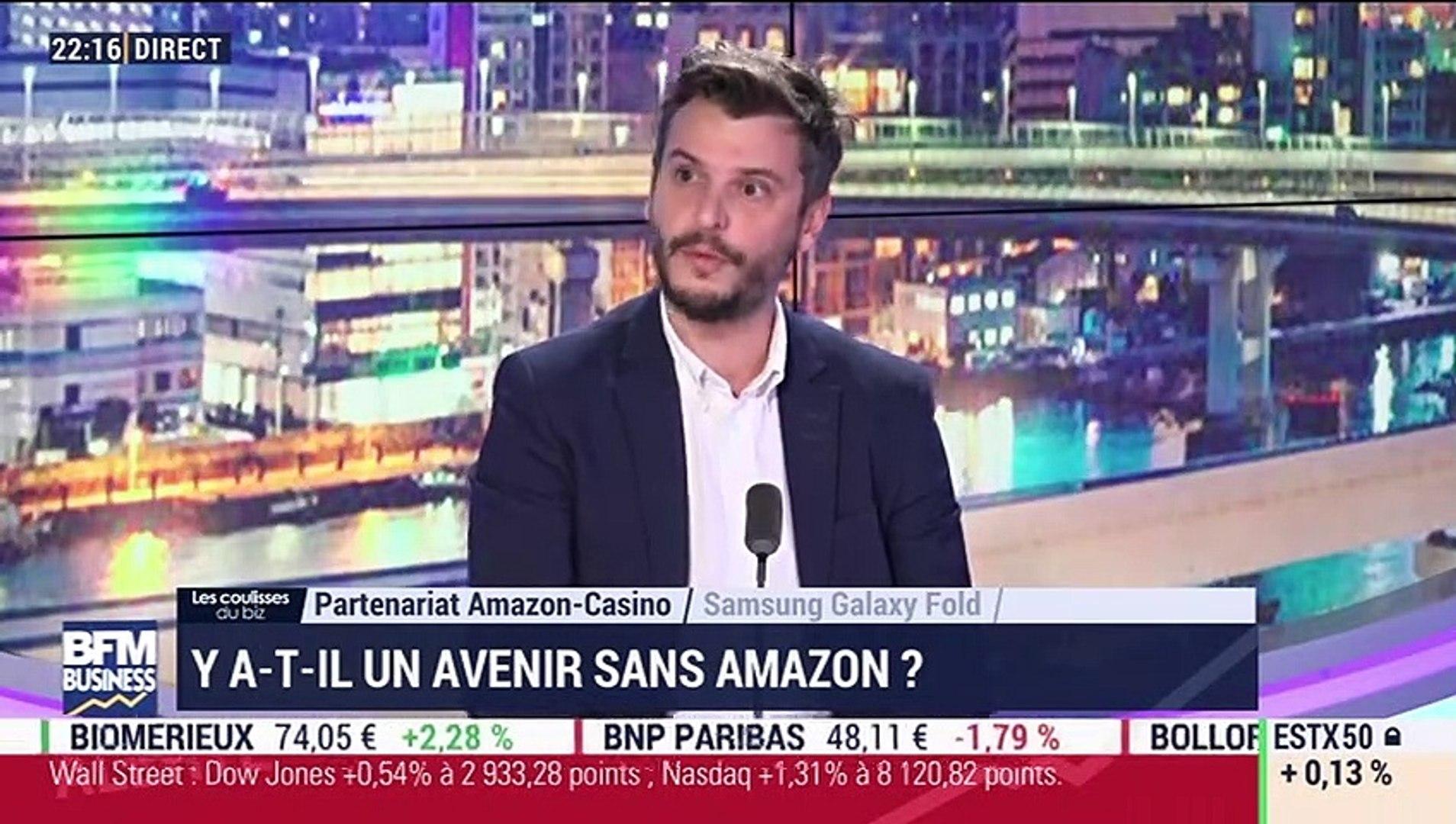 Les coulisses du biz: Partenariat Amazon-Casino, y a-t-il un avenir sans Amazon ? - 23/04
