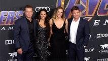 """Matt Damon, Luke Hemsworth """"Avengers Endgame"""" World Premiere Purple Carpet"""