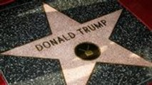 LAPD Investigating After New Graffiti Appears on Trump's Hollywood Star | THR News