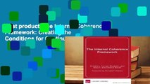 Best product  The Internal Coherence Framework: Creating the Conditions for Continuous Improvement