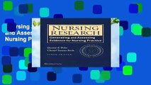Nursing Research: Generating and Assessing Evidence for Nursing Practice  Review
