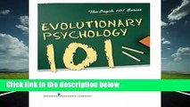 Evolutionary Psychology 101 (The Psych 101 Series)  Review