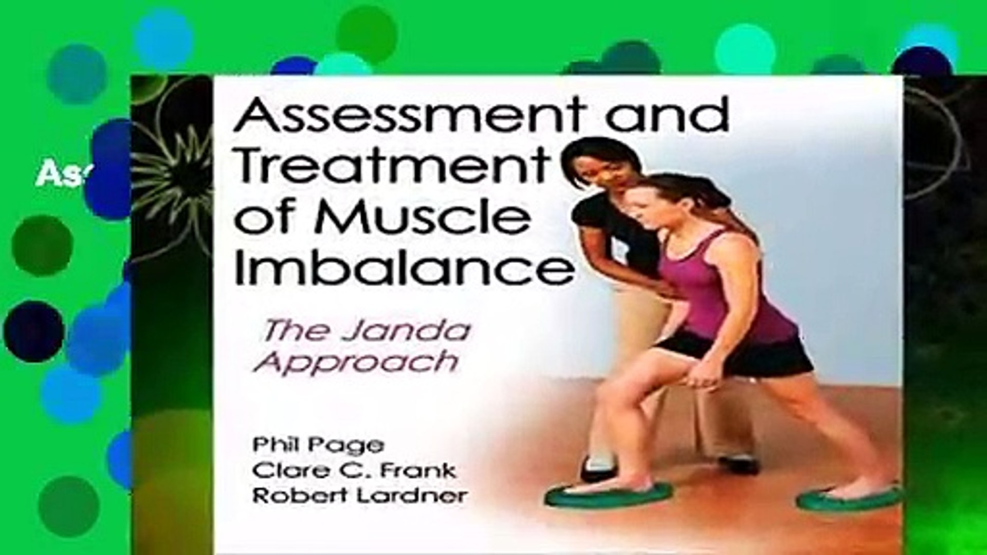Assessment And Treatment Of Muscle Imbalance Video Dailymotion