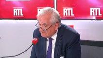 """Retraites : """"Je pense qu'il faut reculer l'âge légal"""", dit Raffarin sur RTL"""