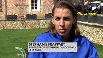 FOOTBALL : STÉPHANIE FRAPPART, PREMIÈRE FEMME DÉSIGNÉE ARBITRE CENTRALE D'UN MATCH DE LIGUE 1