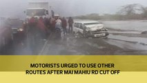 Motorists urged to use other routes after Mai Mahiu rd cut off
