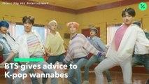 BTS da consejos a los aspirantes del K-Pop (Versión sin texto)