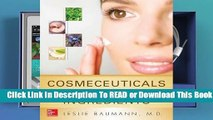Read Cosmeceuticals and Cosmetic Ingredients Ebook Free